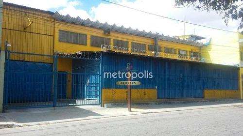 Imagem 1 de 8 de Galpão, 1000 M² - Venda Por R$ 3.723.500,00 Ou Aluguel Por R$ 11.500,00/mês - Vila Nhocune - São Paulo/sp - Ga0359