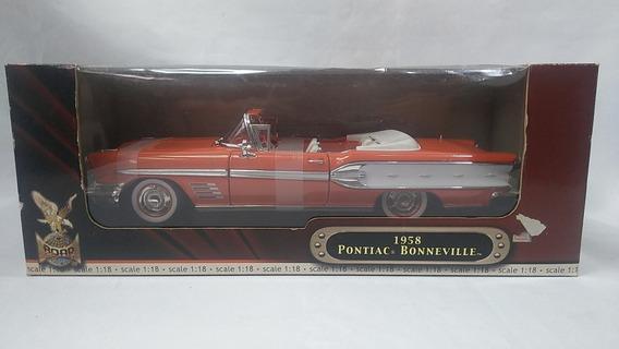 Pontiac Bonneville 1958 Miniatura 1/18 Yat Ming Lacrada Nova