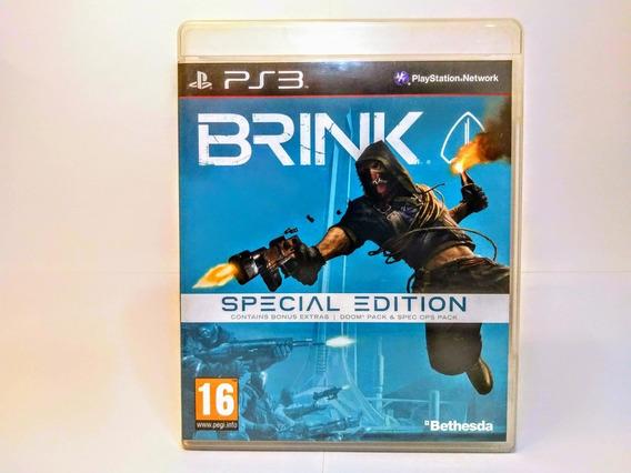 Jogo Brink Special Edition Ps3 Míd.fís.orig.+ 2 Cartões Pack