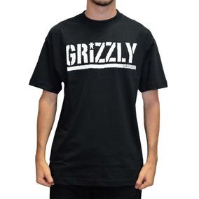Camiseta Grizzly Preta