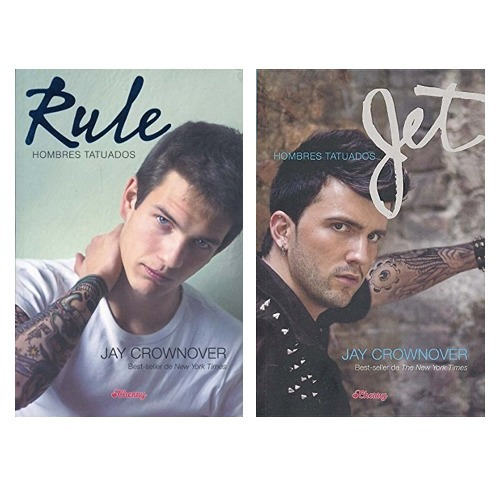 Pack Hombres Tatuados (2 Libros): Rule/jet - Crownover, Jay
