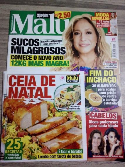 Revista Malu 703 Susana Vieira - Caderno De Receitas