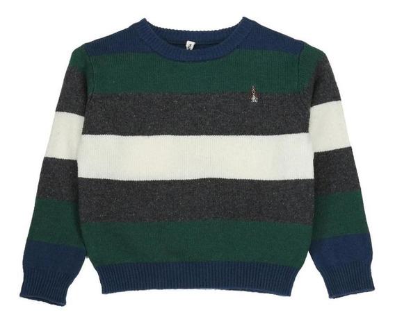 Sweater Niño Hush Puppies Kids Bw20-swt/tomas Insignia Bl