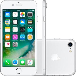iPhone 7 Apple 32gb, Câmera 12mp, Touch Id, Ios11 Prata
