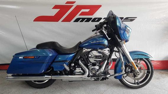 Harley Davidson Flhx Street Glide 2014 Azul