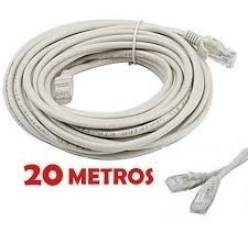 Cable De Red 20 Metros Dblue