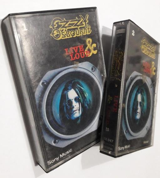 Ozzy Osbourne - Live & Loud 1 Y 2 ( Cassette ) Blanco