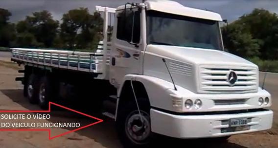 Caminhão Carroceria De Madeira