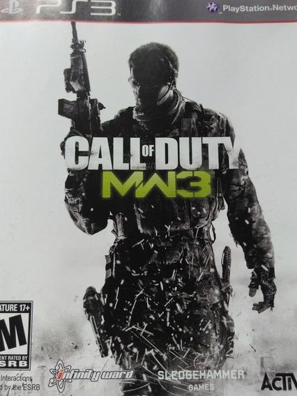 Call Of Duty Modern Warfar 3 Ps3 Original, Leia A Descriçao