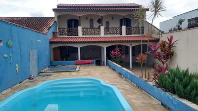 Casa Com Piscina Lado Praia Itanhaém Litoral Sul Sp