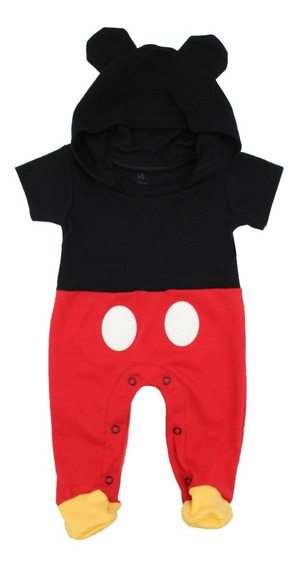 Mameluco Disney Mickey Mouse Gorro Original Disfraz 4612