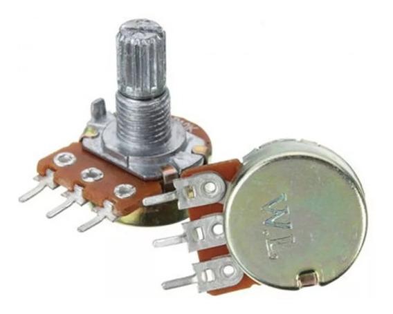 Potenciómetro B10 K - 15 Mm X 2 Unidades