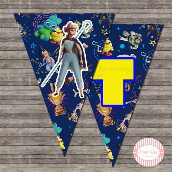 Toy Story Banderin Imprimible Personalizado