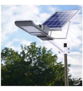 Lámpara Panel Solar Luminaria Alumbrado Publico 60w Led Ip65