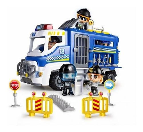 Muñeco Pinypon Action Camion De Operaciones Especiales