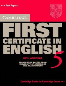 First Certificate In English 5 With Answers Cambridge