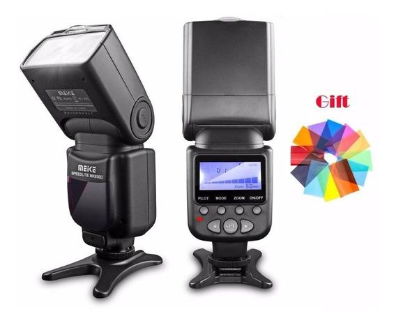 Flash Para Canon T6 T6i T6s T5 T5i 750d 760d Meike Mk 930 Ii