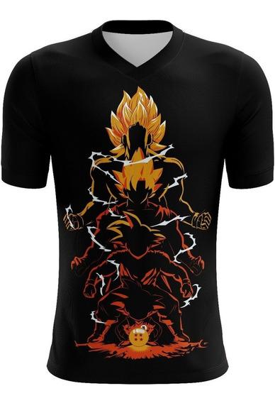 Playera Dragon Ball Fases De Goku