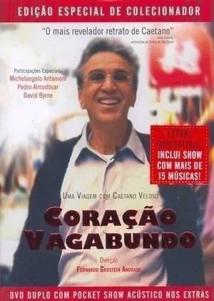 Dvd Coração Vagabundo Caetano Veloso Lacrado