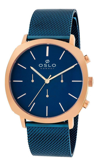 Relógio Masculino Oslo Omtsscvd0007 D1dx