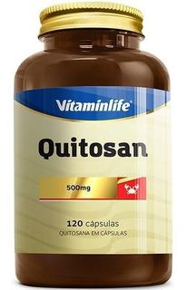 Quitosan / Quitosana - 120 Cápsulas - Vitamin Life