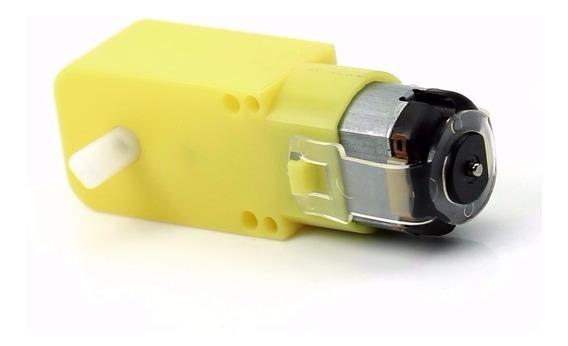 Motor Dc 3v A 6v Caja Reductora Para Rueda Arduino Robotica