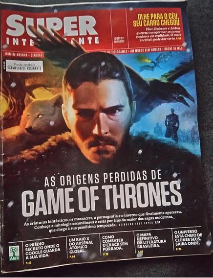 Revista Super Interessante 377 Game Of Thrones