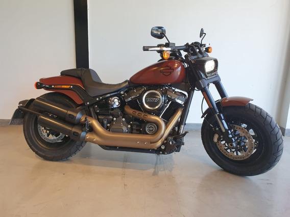 Harley-davidson Fat Bob 107 Vermelha 2018/2018
