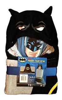 Batman Toalla Con Capucha Wrap Poncho De24 X 50