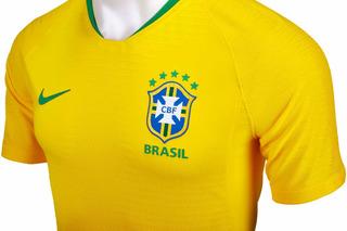 Jersey Brasil Nike Vaporknit 2018 Originla Envio Gratis