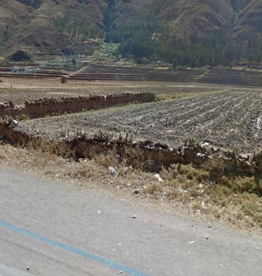 Vendo Trreno Pisac - Cusco - Area Comercial - Trato Directo
