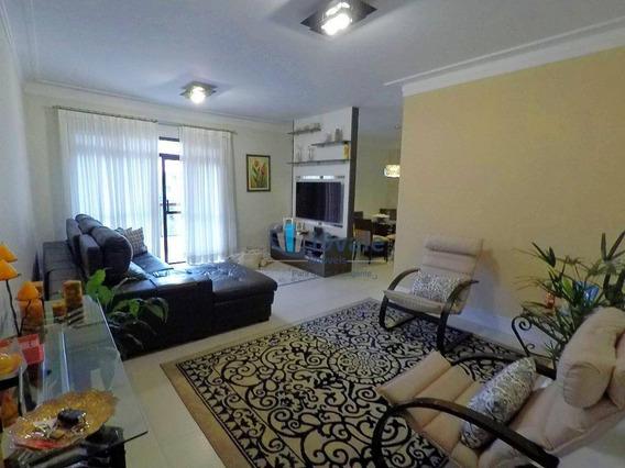 Lindo Apartamento Com 3 Dormitórios À Venda, 134 M² Vila Ema - São José Dos Campos/sp - Ap2011