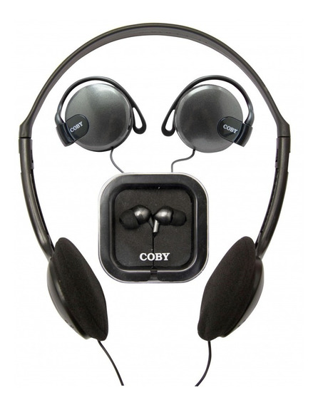 Kit Com 3 Fones: Headphone Auricular Earphone Cv324