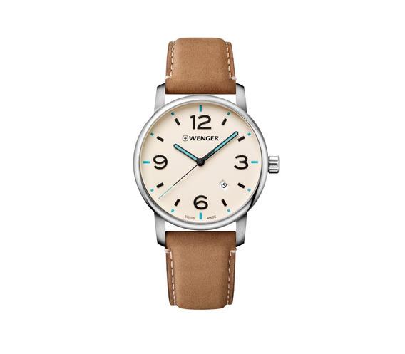 Relógio Wenger Urban Metropolitan Marrom 01.1741.120