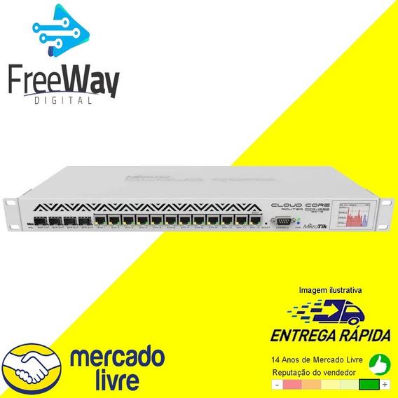 Mikrotik Cloud Core Router Ccr1036-12g-4s-em C/ Nota Fiscal