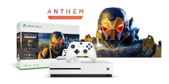 Console Xbox One S 1tb + Anthem Original + Nf.