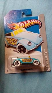 Hot Wheels Volkswagen Beetle - Azul