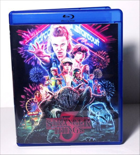 Blu-ray Da Série Stranger Things - 3ª Temporada - Legendado