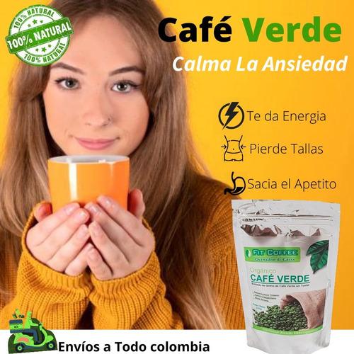 Café Verde Para Adelgazar Unidad A 55000 Mercado Libre