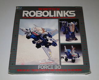 Vintage 1985 Revell Robotech Robolinks Force 30 - Impecable