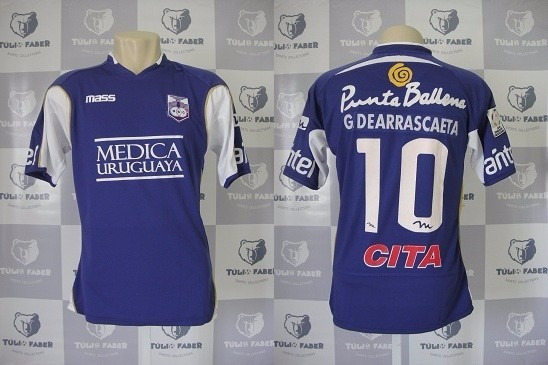 Camisa Oficial Defensor Do Uruguai 2014 - G #10 Arrascaeta