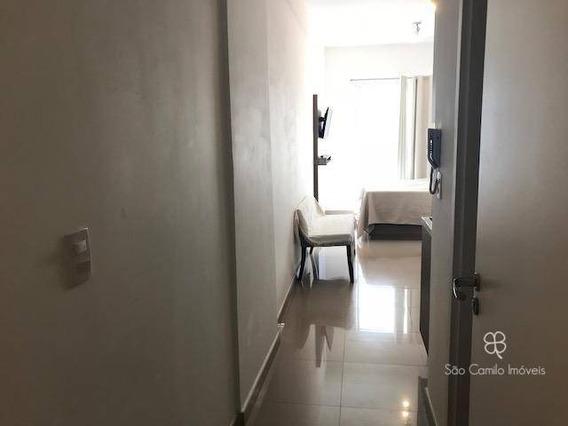 Flat Com 1 Dormitório Para Alugar, 27 M² Por R$ 2.000,00/mês - Granja Viana - Cotia/sp - Fl0002