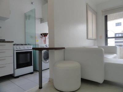 Apartamento Com 1 Dormitório Para Alugar, 45 M² Por R$ 2.900/ano - Brooklin - São Paulo/sp - Ap0716