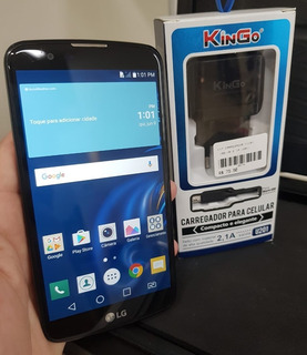 Celular LG K10 (4g Dual K430tv) - 90 Dias De Garantia