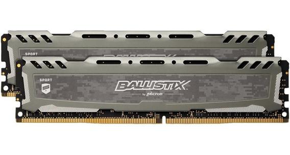 Memoria Ram Kit Ballistix Sport Lt 16gb 2x8gb Ddr4 3000 Mhz
