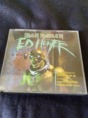 Disco Ed Hunter. Original, Álbum Doble Con El Famoso Juego