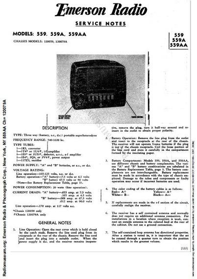Esquemas De Rádios Antigos Da Marca Emerson