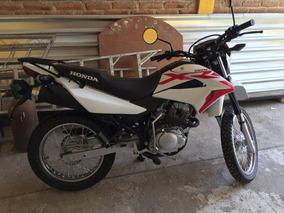 Honda Xr L 150 2018 Blanco/rojo Sin Rodar