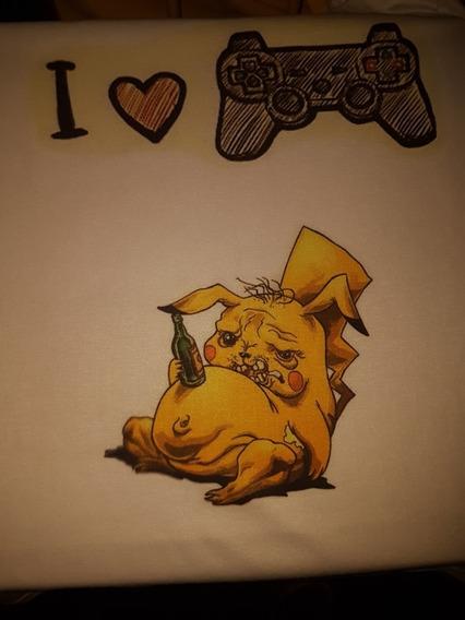 Tshirt Pikachu Pokemon Camiseta