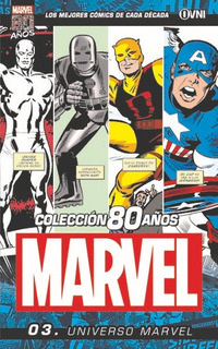 Coleccion 80 Años Marvel Universo Marvel